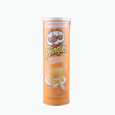 Pringles, Potato Chips (Cheddar) 158g
