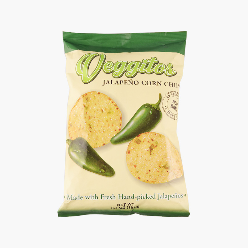 Veggitos, Corn Chips (Jalapeno) 181g