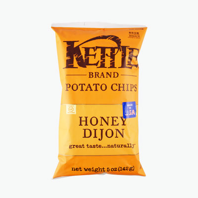 Kettle, Potato Chips (Honey Dijon) 142g