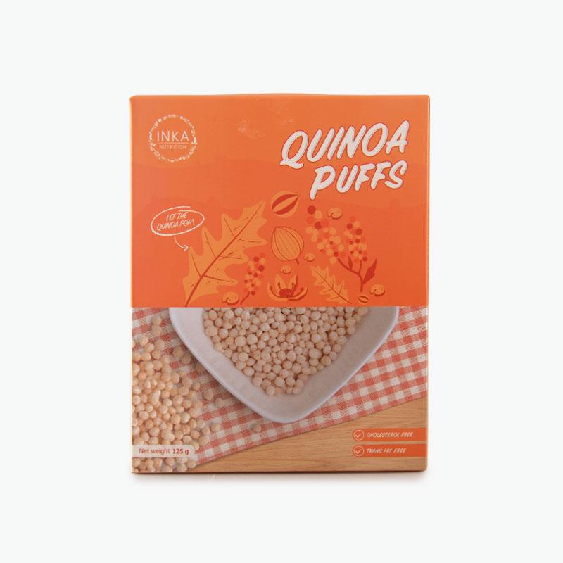 Inka Quinoa Puffs 125g