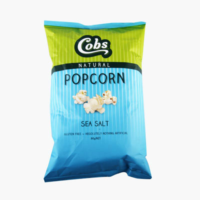 Cobs Sea Salt Popcorn 80g