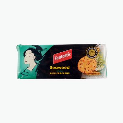 Fantastic Rice Crackers Seaweed 100g