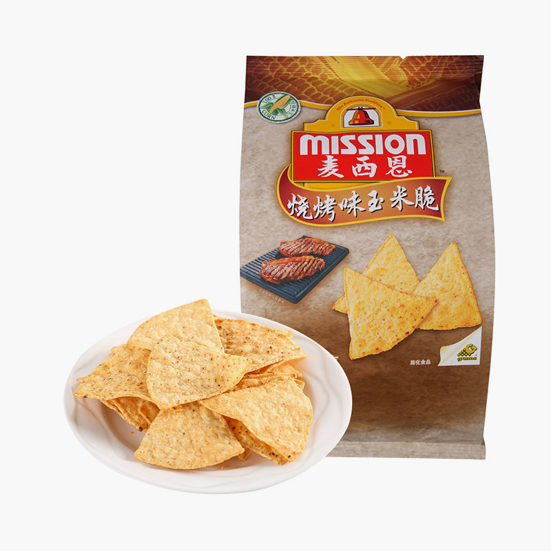 Mission, Tortilla Chips (BBQ) 170g
