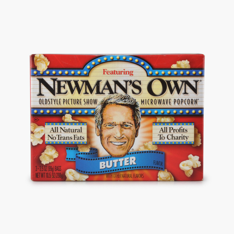Newman's Own, Microwave Popcorn (Butter) 272.1g