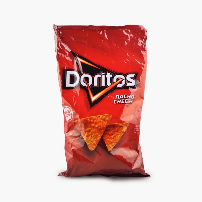 Doritos, Tortilla Chips (Nacho Cheese) 198.4g