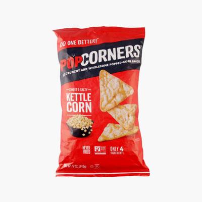 Popcorners, Popped Corn Chips (Kettle) 142g