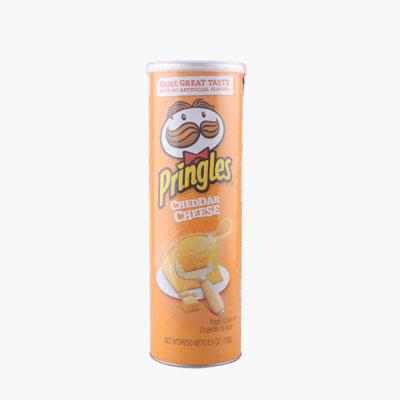 Pringles, Potato Chips (Cheddar) 158g