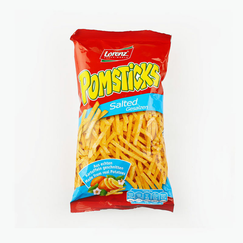 Lorenz, 'Pomsticks' Shoestring Potatoes (Salted) 100g