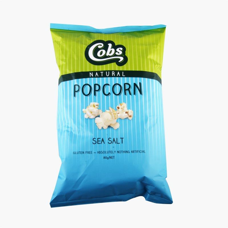 Cobs Sea Salt Popcorn 80g