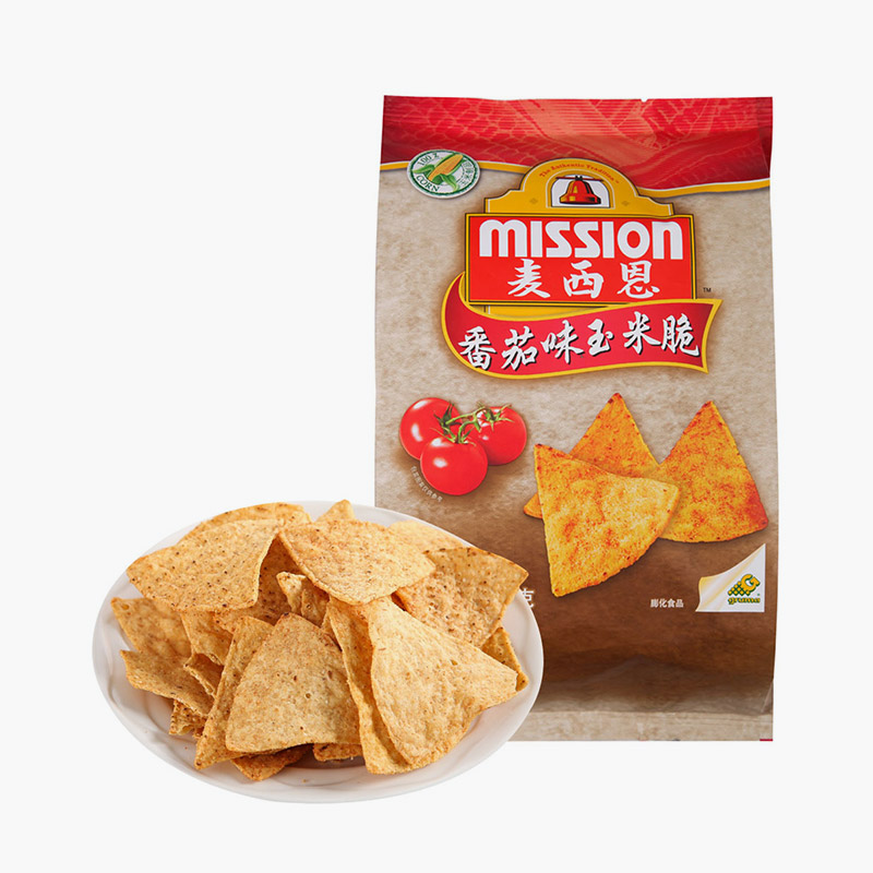 Mission, Tortilla Chips (Tomato) 170g