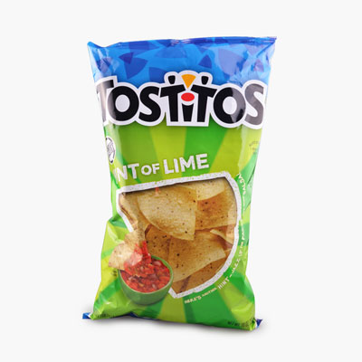 Tostitos, Tortilla Chips (Hint of Lime) 283.5g