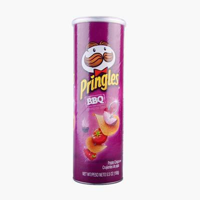 Pringles Grilled BBQ Potato Chips 158g