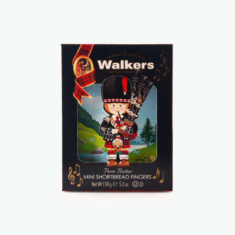 Walkers, Piper Shortbread Biscuits 150g