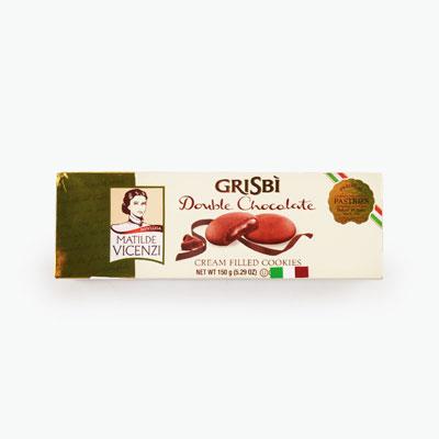 Matilde Vicenzi, 'Grisbi' Double Chocolate Cream Cookies 150g