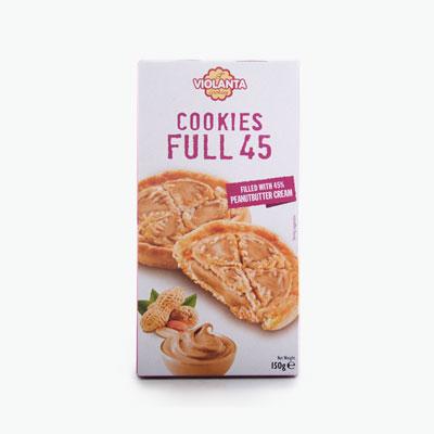 Violanta Full 45 Peanut Butter Cookies 150g