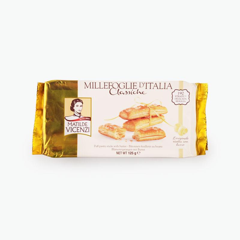 Matilde Vicenzi, 'Millefoglie' Puff Pastry Biscuit 125g