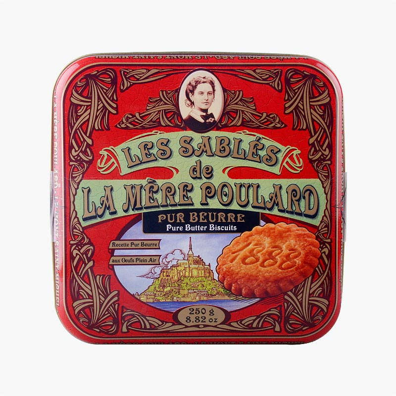 La Mere Poulard French Butter Biscuits 250g