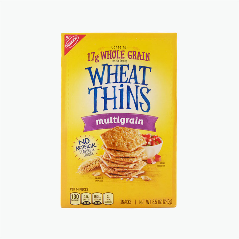 Nabisco Wheat Thins Baked Snack Crackers,Multigrain 240g