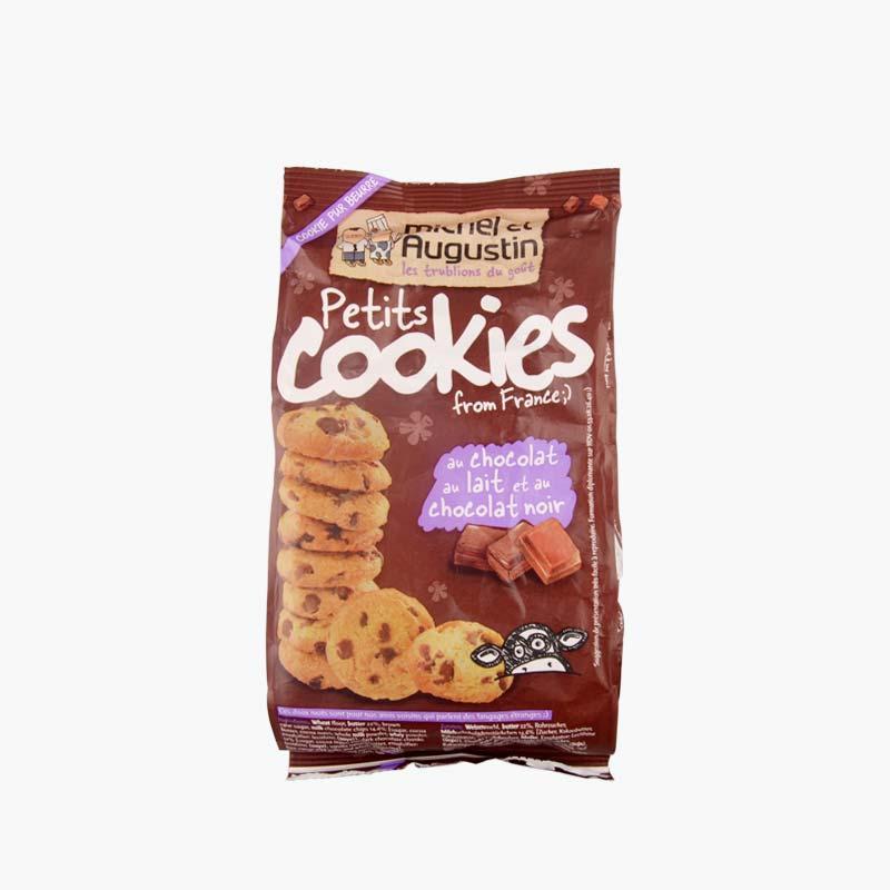 Michel et Augustin Dark and Milk Chocolate Mini Cookies 150g