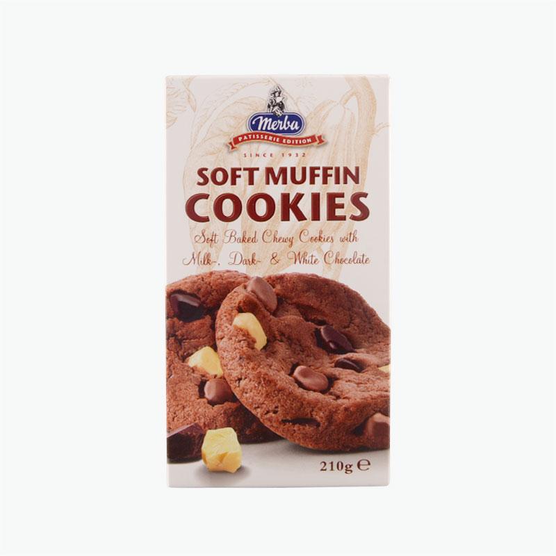 Merba Patisserie Soft Muffin Cookies 210g