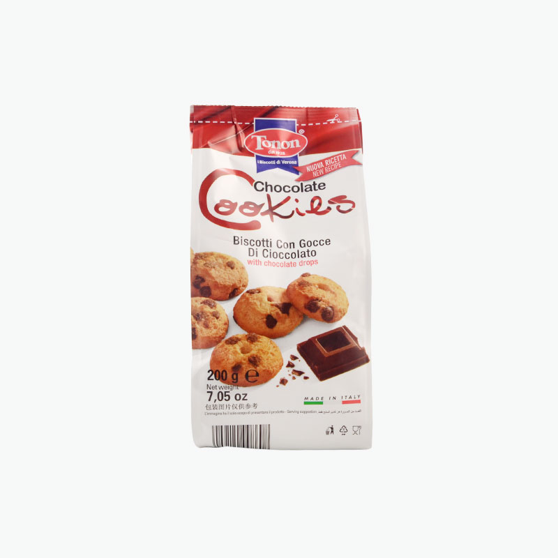 Tonon Chocolate Drops Cookies 200g