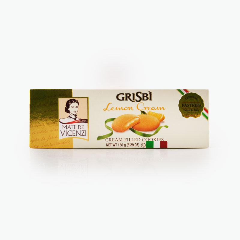 Matilde Vicenzi, 'Grisbi' Lemon Cream Cookies 150g