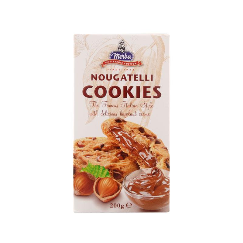 Merba Patisserie Nougatelli Cookies 200g