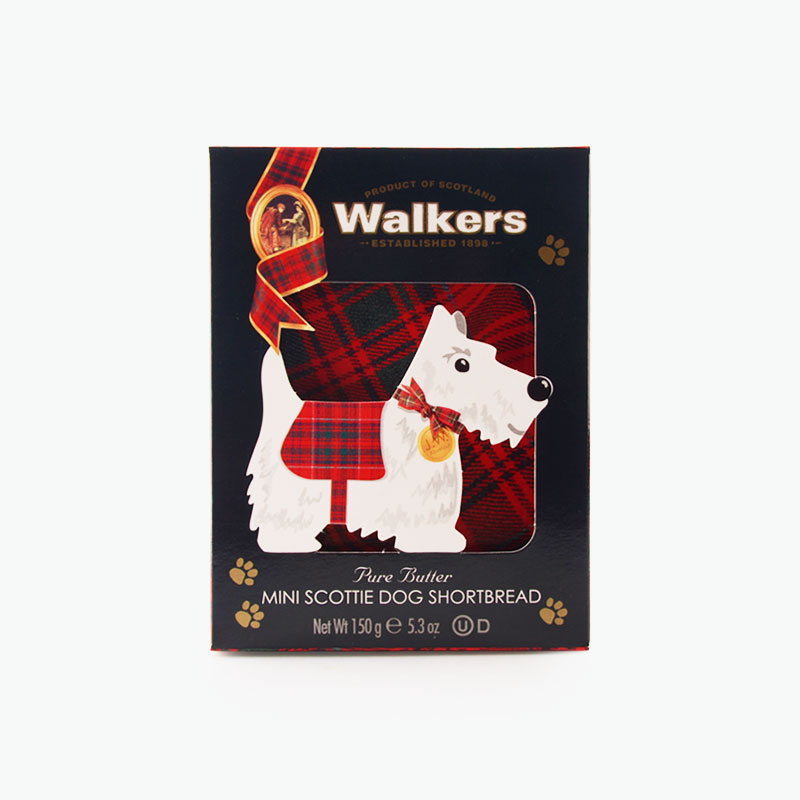 Walkers, Scottie Dog Shortbread Biscuits 150g
