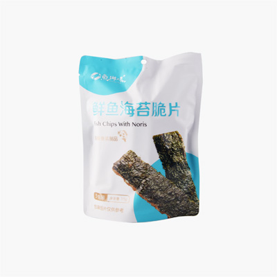 Fish Chips with Seaweed 35g