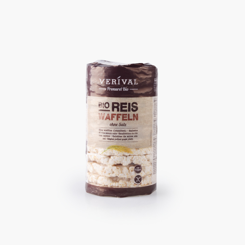 Verival, Puffed Rice Cakes (No Salt Added) 100g