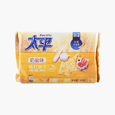 Pacific, Milk Saltine Crackers 400g