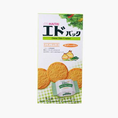 Edo Pack, Onion Crackers 160g