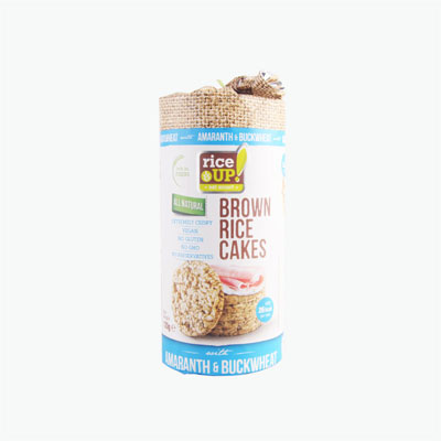 Rice Up Amaranth and Buckwheat Brown Rice Cakes 120g