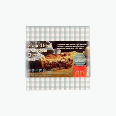 Tuck shop pie  Ground Beef & Cheddar Cheese Pie 220g