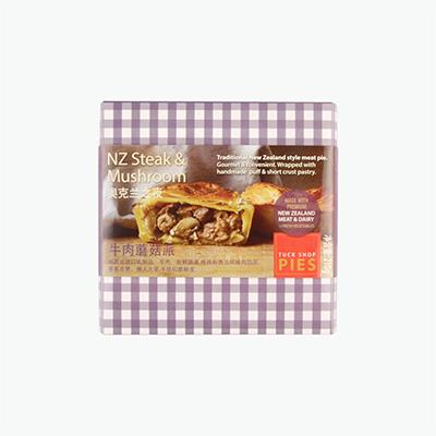 Tuck shop pie  NZ Steak & Mushroom Pie 210g