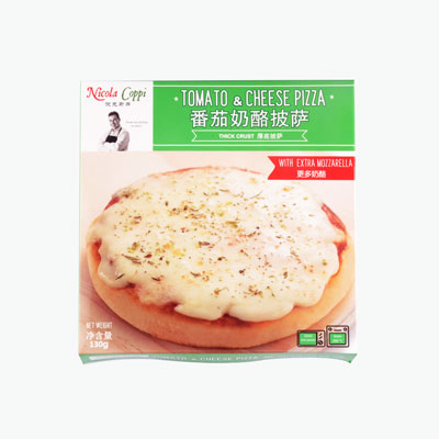Nicola Coppi, Pizza Tomato & Cheese 130g 6 inch