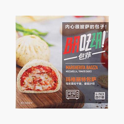 Baozza Margherita Pizza Stuffed Baozi 360g