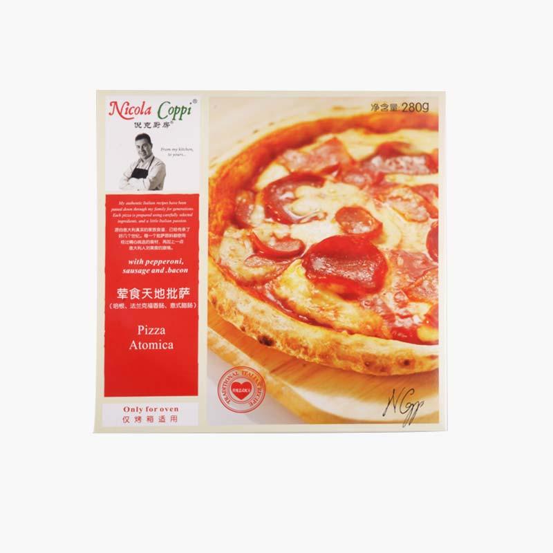 Nicola Coppi, Pizza Atomica 280g 9 inch