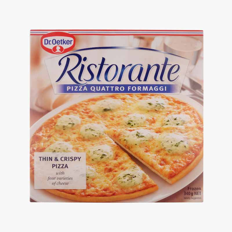Dr. Oetker, 'Ristorante' Four Cheese Pizza 340g
