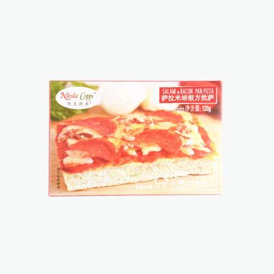 Nicola Coppi Salami & Bacon Pizza Slice 120g