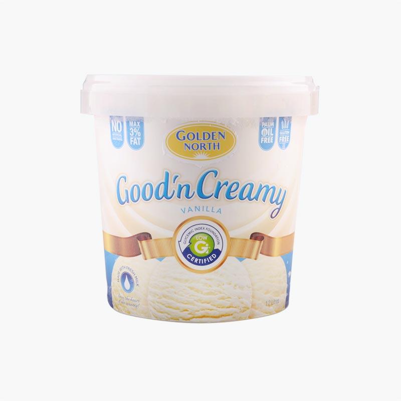 Golden North Creamy Vanilla Ice Cream1.2L