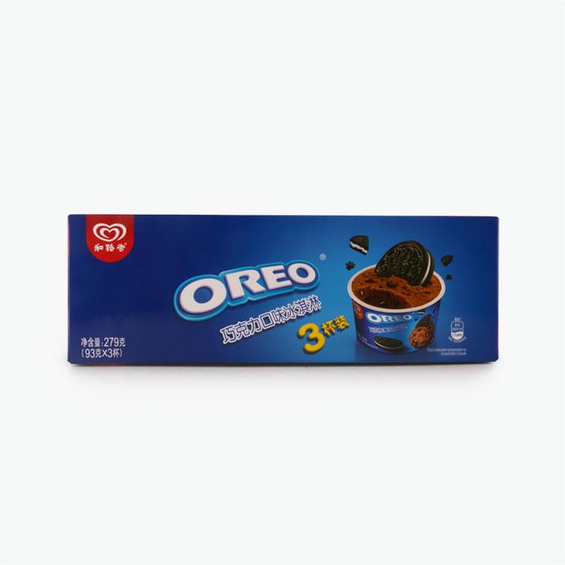 Wall's, Oreo Chocolate Ice Cream Cups 93g x3