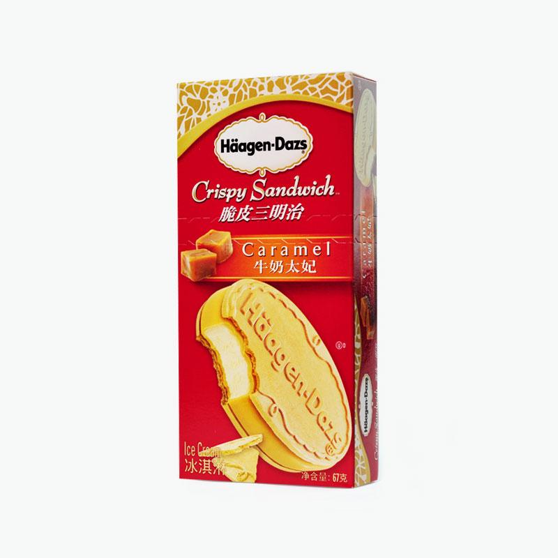 Häagen-Dazs, Crispy Ice Cream Sandwich (Caramel) 67g