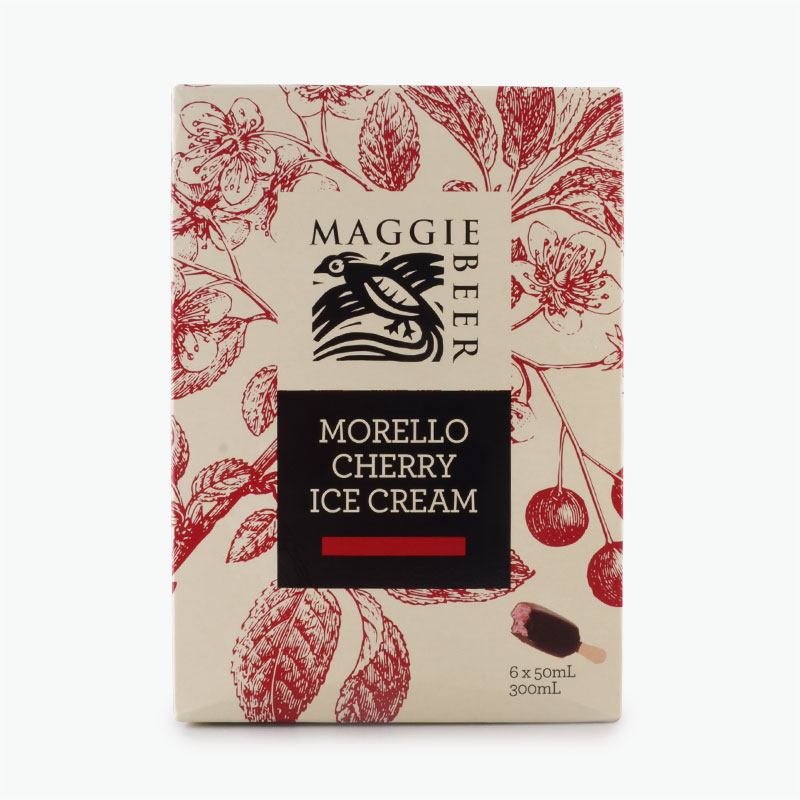 Maggie Beer Morello Cherry Ice Cream Bars 36g x 6