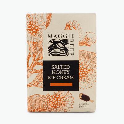 Maggie Beer Salted Honey Ice Cream Bars 38g x 6