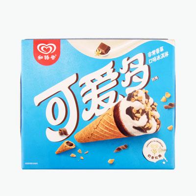 Wall's 'Cornetto' Vanilla Ice Cream (Cone) 67g x6