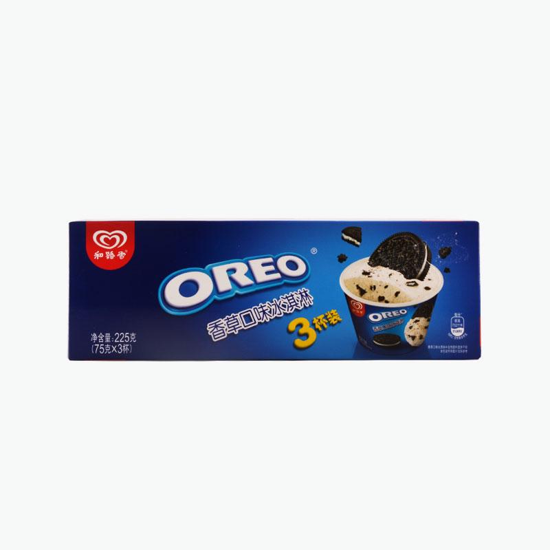 Wall's, Oreo Vanilla Ice Cream Cup 93g*3