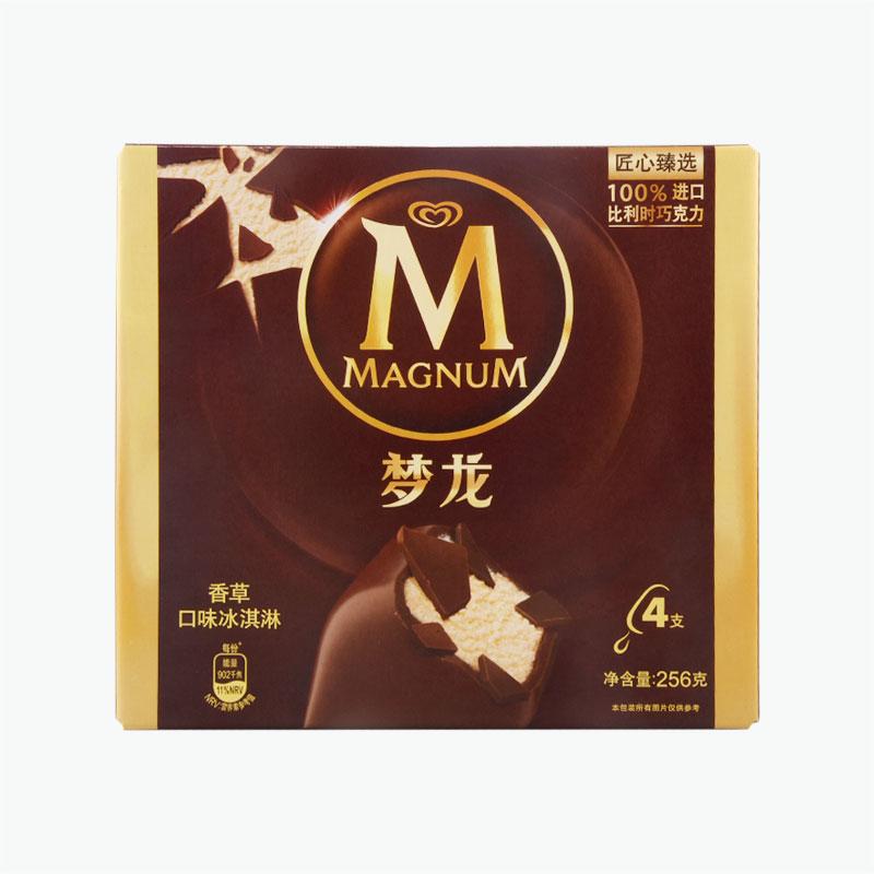 Magnum, Vanilla Ice Cream Bars 64g x4
