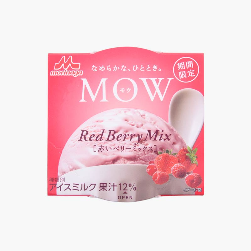 Morinaga Japanese Red Berry Ice Cream 122g