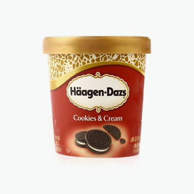 Häagen-Dazs, Cookies & Cream Ice Cream 375g